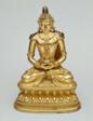 Buddha Amitayus Holding a Vase of Longevity (Kalasa)