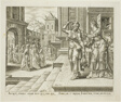 Judith Preparing Herself to Leave for the Enemies' Camp, plate four from The Story of Judith and Holofernes