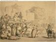 Village Fair: Harlequin and Quack