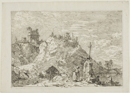 Landscape with the Pilgrim at Prayer, from Vedute