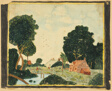 Landscape with an Inn and a Bridge