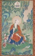 Painted Banner (Thangka) of Vajriputra, One of the Sixteen Great Arhats