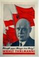 Fight Against Hunger and War! Elect Thälmann! (Kämpf gegen Hunger und Krieg! Wählt Thälmann!)