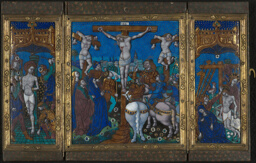 Triptych with The Crucifixion, The Flagellation, and The Entombment