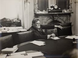 James Hamilton Lewis, Senator from Illinois During a Meeting of the Senate Foreign Affairs Committee in 1932