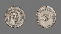 Antoninianus (Coin) Portraying Emperor Pupienus