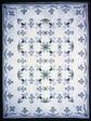 Bedcover (Blue Iris Quilt)