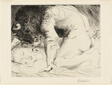 Minotaur Caressing Sleeping Woman, from the Suite Vollard