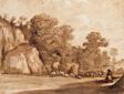 A Rocky Hillside