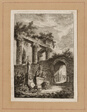 Plate Three from Evenings in Rome