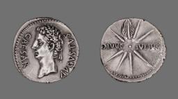Denarius (Coin) Portraying Emperor Augustus