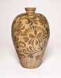 Vase with Stylized Floral Scrolls