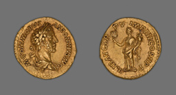 Aureus (Coin) Portraying Emperor Commodus