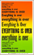 Everything is Over, from Preview Suite
