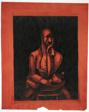 Man Seated at a Table, No. 1