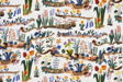 Primavera (Dress or Furnishing Fabric)