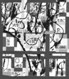 "Panel Entitled ""ABC Drawn Quilt"""