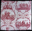 Triomphe de Voltaire (Triumph of Voltaire) (Furnishing Fabric)
