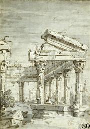 Capriccio: A Ruined Classical Temple