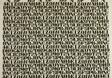 Alphabet (Furnishing Fabric)