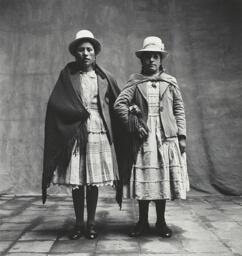 Two Cholas (Mestizas) From Puno, Cuzco