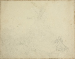Study of Kneeling Figure