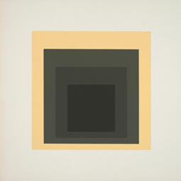 Shielded, plate seven from Homage to the Square: Ten Works by Josef Albers