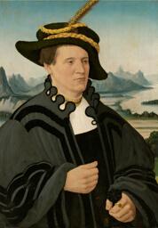 Portrait of Fridrich Rorbach