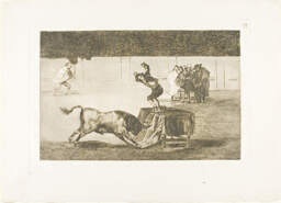 Another madness of his in the same ring, plate 19 from The Art of Bullfighting