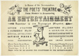 The Poets' Theatre...An Entertainment