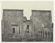 Drômos et Philônes, Grand Temple d'Isis à Pilônes; Nubie