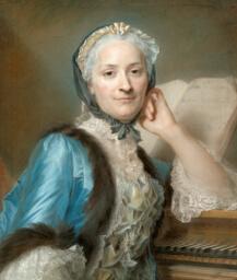Portrait of Madame Anne-Jeanne Cassanéa de Mondonville, née Boucon (1708-1780)