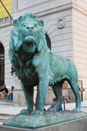 Lion (One of a Pair, South Pedestal)
