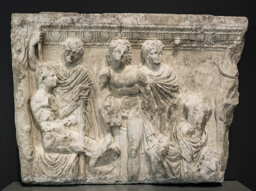 Side Panel of a Sarcophagus
