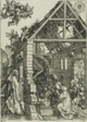 The Adoration of the Shepherds, from The Life of the Virgin