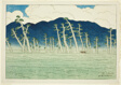 "Awazu, from the series ""Eight Views of Omi (Omi hakkei)"""