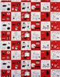 Mustalammas (Black Sheep) (Furnishing Fabric)