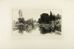 Shere Mill Pond, No. II (large plate)