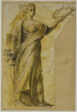Standing Woman with Laurel Wreath