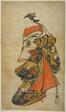 The Actor Fujimura Handayu II as Oiso no Tora