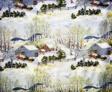 Early Springtime on the Farm (Furnishing Fabric)
