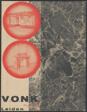 Advertisement for V.O.N.K. Leiden [Verkoop Organisatie voor Natuur-en Kunsteen