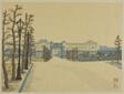 """Akasaka Palace (Akasaka rikyu), from the series """"Recollections of Tokyo (Tokyo kaiko zue)"""""""