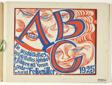 ABC: A Nonsense Alphabet in Pictures with Verses by Londa and Conrad Felixmüller (ABC: Ein Geschütteltes, Geknütteltes Alphabet in Bildern mit Versen von Londa und Conrad Felixmüller)