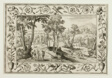 The Journey to Emmaus, from Landscapes with Old and New Testament Scenes and Hunting Scenes