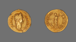 Aureus (Coin) Portraying Empress Sabina