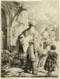 Abraham Casting out Hagar and Ishmael