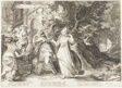 Plate Five, from Five Wise and Five Foolish Virgins