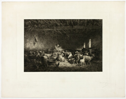 The Large Sheepcot, horizontal plate