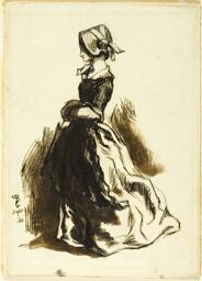 Full-length Portrait of a Woman